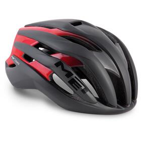 MET Trenta Pyöräilykypärä , punainen/musta
